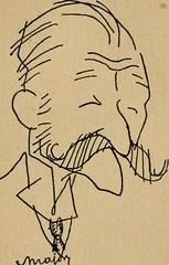 """Image from page 16 of """"Panoptikuma : irók és hirlapirók karrikaturái"""" (1913)"""