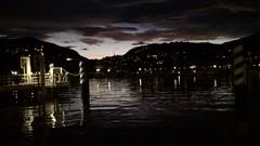 End of day at lungolago di Como