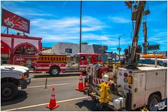 Sunset Boulevard II (FOXTROT|ROMEO) Tags: california ca blue sky sun car cali canon fire eos la los boulevard angeles kodak wide roadtrip lafd hollywood hdr sunsetblvd hollywoodhills sunsetboulevard weitwinkel theathre 70d widerange eos70d sunsetblvrd