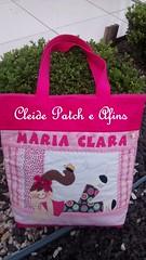 Bolsa Personalizada (Cleide Patch e Afins) Tags: nome criana boneca escola patchwork bolsa tecidos colorido bolsos personalizado botes alas patchaplique