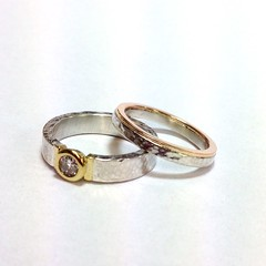 Wedding Engagement ring set