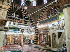 _7024230.jpg (Syria Photo Guide) Tags: city minaret mosque syria ottoman damascus        alsinaniyehmosque damascusgovernorate damascusregion danieldemeter syriaphotoguide