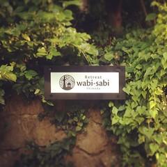 Our new accommodation Retreat wabi-sabi shimoda will be open from day after tomorrow!  明後日、Retreat wabi-sabiがオープンを迎えます!看板もできてお客様を迎える態勢が整って来ました。