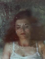 If she hears you (aleah michele) Tags: portrait window water glass magic oil mundane aleahmichele aleahmichelephotography