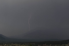 Bam! (ArneKaiser) Tags: arizona autoimport flagstaff landscape monsoon clouds lightning sky storm weather unitedstates flickr