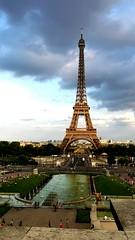 Paris dans le coeur (martabeillard) Tags: france beautiful magic eiffel toureiffel