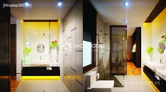 Thiết kế nội thất phòng tắm wc_001