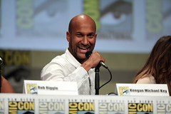 Keegan-Michael Key (Gage Skidmore) Tags: california michael san key comic cops lets diego center rob convention be keegan nina damon con 2014 wayans riggle dobrev