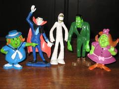 Some Groovie Goolies (Donald Deveau) Tags: monster actionfigure cartoon monsters pvc vintagetoy grooviegoolies vintagemonster
