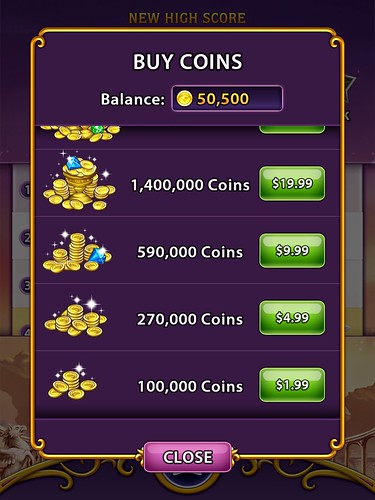 Bejeweled Blitz Virtual currency Bank: screenshots, UI