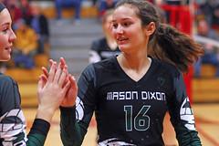 IMG_6621 (SJH Foto) Tags: girls volleyball teen teenager team mason dixon mayhem u16s substitution sub rotation