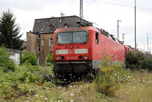 DB Regio 143 164-2 Schrottpark, Trier