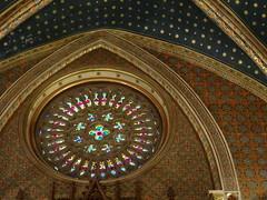 Teruel Vidriera roseton Iglesia San Pedro 02 (Rafael Gomez - http://micamara.es) Tags: vidriera roseton teruel vidrieras iglesia san pedro