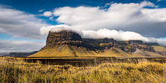 Lomagnupur - Iceland (Henk Verheyen) Tags: ijsland iceland lomagnupur autumn berg buiten clouds herfst landscape landschap mountain nature natuur outdoor outsite wolken suðurland is lómagnúpur