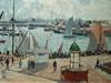 PISSARRO Camille,1903 - L'Anse des Pilotes, Le Havre, Matin, Soleil, Marée montante (Le Havre) - Détail 10