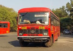 Buldhana - Nagpur (yogeshyp) Tags: msrtc msrtcparivartanbus maharashtrastatetransport buldhananagpurstbus