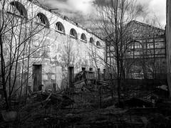 Ap Mos (Teet Liiv) Tags: forgotten places nature humans clash 2017 dark architecture old building ruins sony blackandwhite monochrome estonia idavirumaa