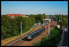 DB Cargo 193 614, Berlin Köpenick 22-09-2016 (Henk Zwoferink) Tags: berlijn duitsland de siemens berlin köpenick henk zwoferink db cargo vectron x4e mrce 614