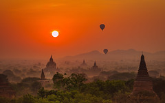 myanmar (sandilesmana28) Tags: orange myanmar sunrise herritage tree nature landscape temple
