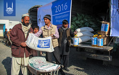 Islamic Relief's winterization distribution in Kabul, Afghansitan