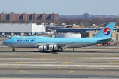 HL7632 | Boeing 747-8B5 | Korean Air (cv880m) Tags: newyork kennedy jfk kjfk airplane airliner jetliner aircraft hl7632 boeing 747 74h 7478 7478i 7478b5 kal korea koreanair koreanairlines jumbo