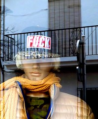 Reflection Javea Spain #dailyshoot (Leshaines123) Tags: reflection canon xabia javea mannequin fuck light facebook rule thirds dailyshoot spain alicante eos exposure composition