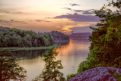 Stockholm on the Rocks (stewartcollins2) Tags: rocks rocky landscape sunset lake lakes sweden stockholm nature sunlight trees