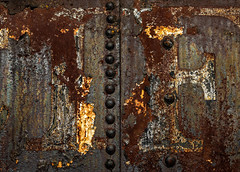 Type Repurposed (Junkstock) Tags: aged abandoned artifact artifacts abstract abstraction color corrosion corroded craquelure decay decayed distressed graphics graphic illinois iron industrial industry irmcom old oldstuff oldandbeautiful obsolete paint patina peelingpaint railroad relic rivets rust rusty rustyandcrusty rusted textures texture typography type transportation transport trains text train vintage weathered
