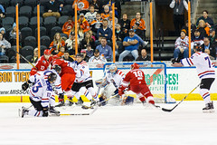 "Missouri Mavericks vs. Allen Americans, March 3, 2017, Silverstein Eye Centers Arena, Independence, Missouri.  Photo: John Howe / Howe Creative Photography • <a style=""font-size:0.8em;"" href=""http://www.flickr.com/photos/134016632@N02/33117919942/"" target=""_blank"">View on Flickr</a>"