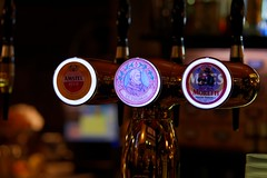 Which one to drink (Edwin Verhulst) Tags: tap italia italy bologna bar café choice drafted beer drink