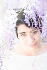 High key (DanAie) Tags: high key highkey white color colour colors italia italy quiesa lucca tuscany toscana light eyes eye beautiful girl woman detail photography photographer portrait flower flowers ritratto dof beauty