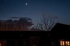 Abendhimmel (p.schmal) Tags: panasonicgx80 hamburg farmsenberne meteorologischerfrühlingsanfang