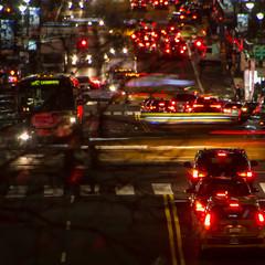A street in NYC (surgeon24hrs) Tags: canon canon7d canondigital nyc iloveny newyorkcity bigapple street night nightwalk zoom tamron manhattan