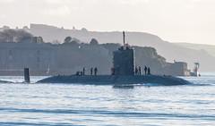 HMS Torbay 22nd December 2016 #6 (JDurston2009) Tags: hmstorbay plymouthsound s90 ssn trafalgarclass attacksubmarine mountwise plymouth royalnavy submarine warship