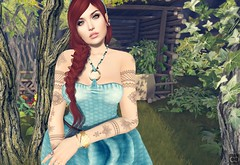 There's A Secret Garden She Hides (Cryssie Carver) Tags: secondlife second life sl avatar bishbox bish box theliaisoncollaborative the liaison collaborative everglow doe kibitz yummy identity sys comesoonposes comesoon come soon poses league suicidalunborn suicidal unborn maitreya slink catwa