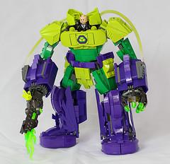 Lex Mech (Frost Bricks) Tags: lego lex luthor power armor mech lexluthor powerarmor moc