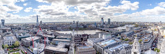 Pano two from St Paul's (www.premiumpics.co.uk) Tags: london panorama cityscape theshard londonbuildings londonskyline londoneye londonbridge city stpaulscathedral stpauls