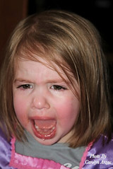 Not Happy! (Carolyn Arzac) Tags: canon t3i saltlakecity utah child crying flickr candid