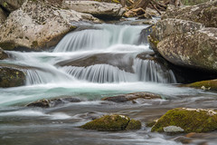 The Wings of a Waterfall (Jon Ariel) Tags: gsmnp greatsmokymountains greatsmokymountainsnationalpark tennessee elkmont waterfall water