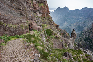 Am Weg vom Pico do Arieiro zum Pico Ruivo