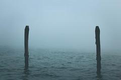16/52 Minimalism (sandra_laranja) Tags: venice fog nevoeiro mistic water água minimalism minimalismo mistério veneza venezia lessismore travel italy itália