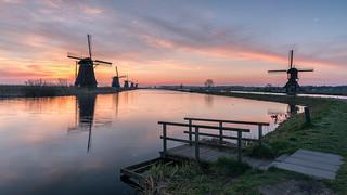 Testing the LEE Landscape Polariser in Kinderdijk