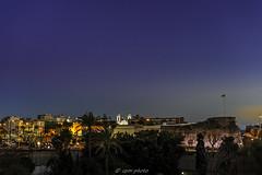 Catedral y murallas de Ceuta, rincones de Ceuta. (picscarpemi) Tags: ceuta nocturna paisaje rinconesdeceuta