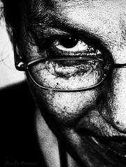 Details (MarLo-Artwork) Tags: portrait frau alt schwarzweiss schwarzweis schwarz weis detail charakter postwork artwork nachbearbeitung marlo sony alpha a37 art blackwhite blackn white woman old