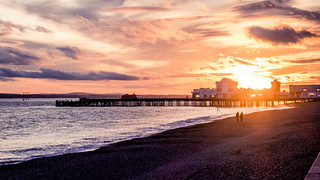 Sunset Over South Parade Pier