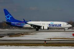 C-FYQO (Air Transat) (Steelhead 2010) Tags: airtransat boeing b737800 b737 yhm creg cfyqo