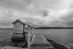 DSC02074 (Damir Govorcin Photography) Tags: boardwalk landscape architecture sky clouds water sea ocean watsons bay sydney sony a7ii zeiss 1635mm blackwhite monochrome natural light outdoors perspective creative composition wide angle