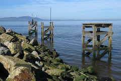 At the entrance to Silloth Docks, 25 March 17 (gillean55) Tags: canon powershot sx60 hs superzoom bridge camera north cumbria silloth harbour port docks solway coast criffel