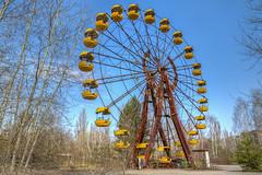 ferrish wheel (___pete___) Tags: chernobyl pripyat nuclear abandoned ukraine ferrishwheel