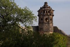 One of the corner watch towers (JohnMawer) Tags: hampi karnataka india in vijayanagaraempire